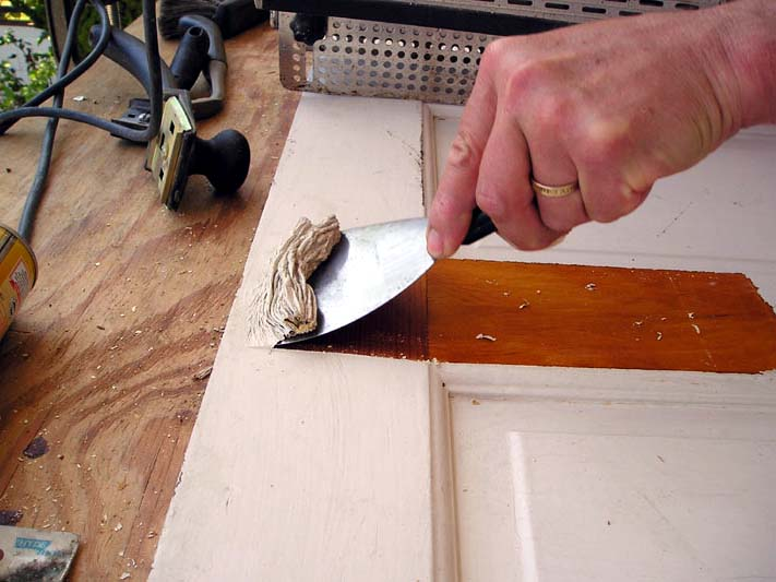 How To Remove Old Latex Paint From Wood Trim